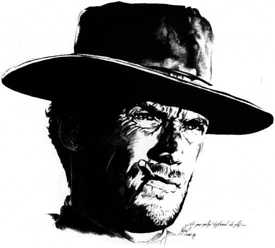 Clint Eastwood par Pastis